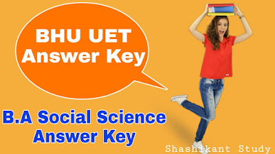 bhu-b.a-socail-science-answer-key