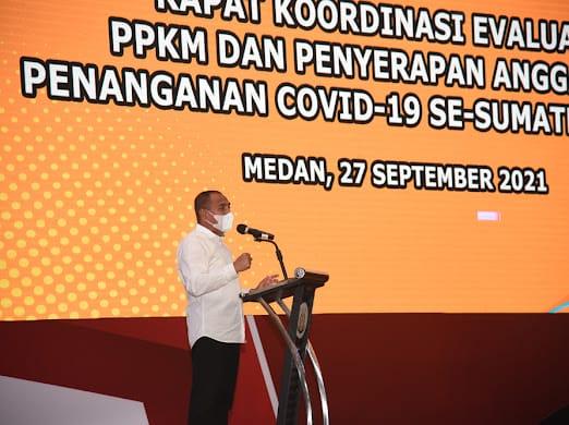 Anggaran Penanganan Covid-19, Sumut Realisasikan Sekitar 87,2 Miliar Pertanggal 18 September 2021
