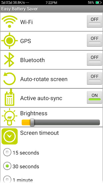 Easy Battery Saer - screenshot 1