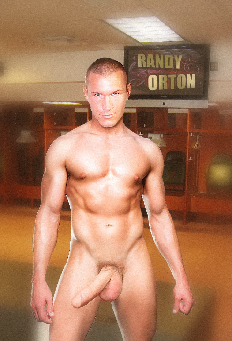 Randy orton nudo think, what