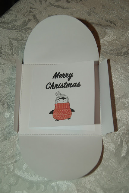 Free Printable Christmas Cards and Envelopes from The Cherry On Top