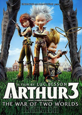 Sinopsis film Arthur 3: The War of Two Worlds (2010)