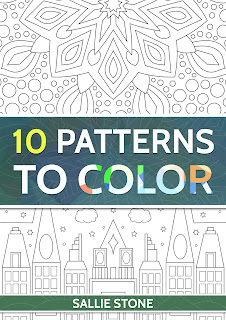 Symmetrical Patterns Adult Coloring Book