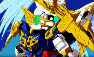 SD Gundam World: Sangoku Souketsuden Episodio 01