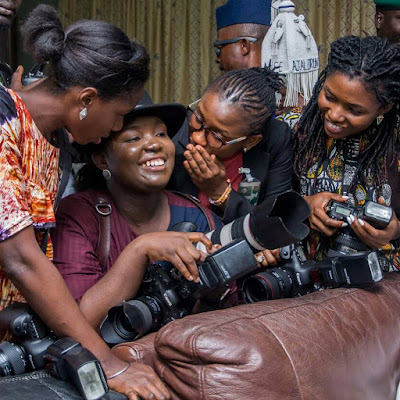 The Talented Female Photographers Documenting Lives Of VP Yemi Osinbajo And State Governors, All Pictured Together