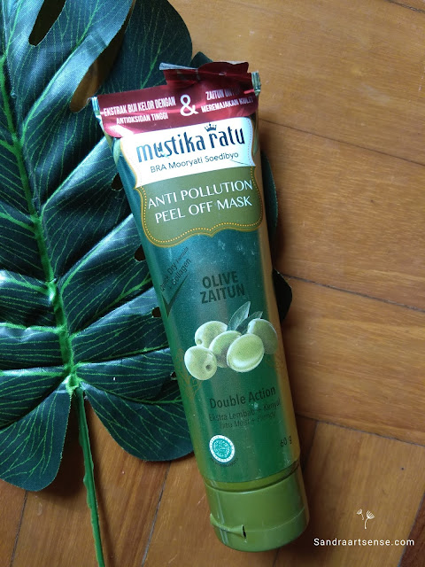 Review Mustika Ratu Olive Zaitun Anti Pollution Peel Off Mask