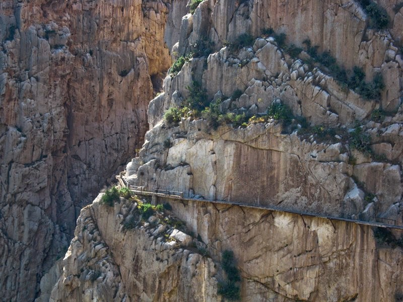 Dangerous Crossing of El Camino del Rey