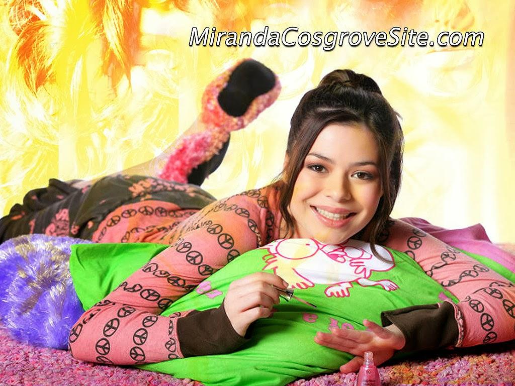Miranda cosgrove spread legs