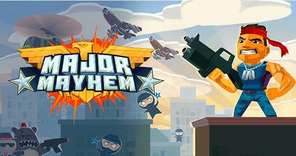 Major Mayhem أفضل ألعاب اندرويد بدون نت أوفلاين 2021 مجانا بجودة عالية