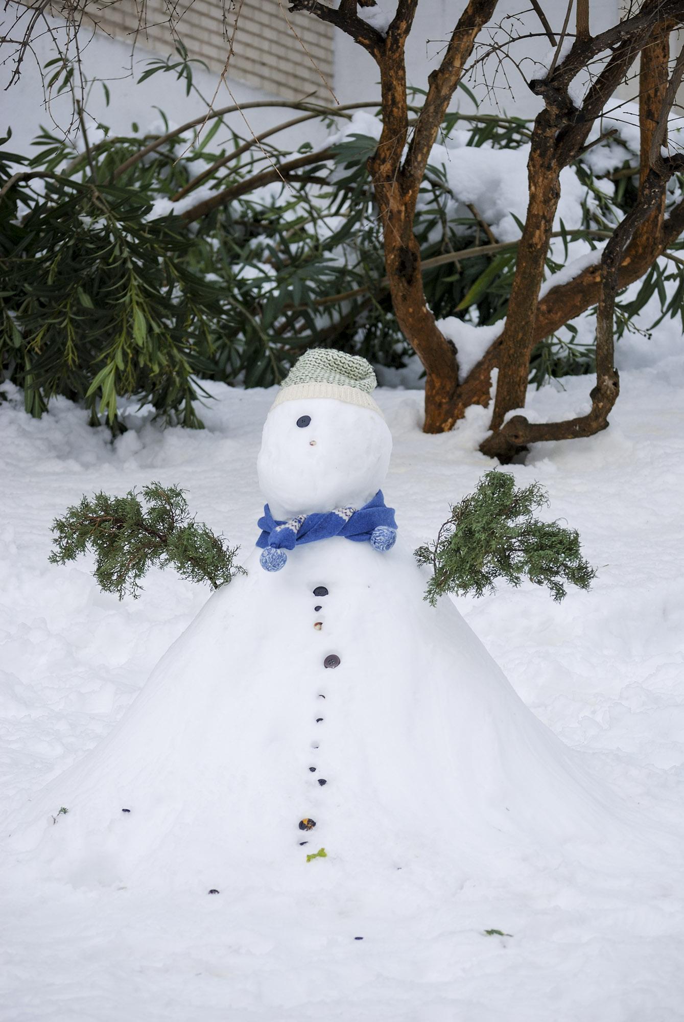 snowman Madrid
