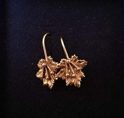 biżuteria, złote kolczyki, złoto, prezent dla dziewczynki, prezent dla kobiety