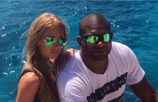 Alistair Overeem With Girlfriend Danielle Toele