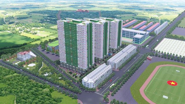 Tổng quan chung cư nhà ở xã hội IEC