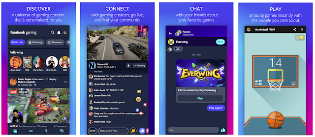 Facebook Launches New Gaming App for Both iOS and Android