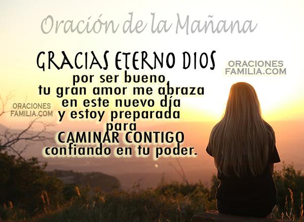 Cortas Frases con oraciones de la mañana, reflexión de la mañana, plegaria para iniciar el día por Mery Bracho.