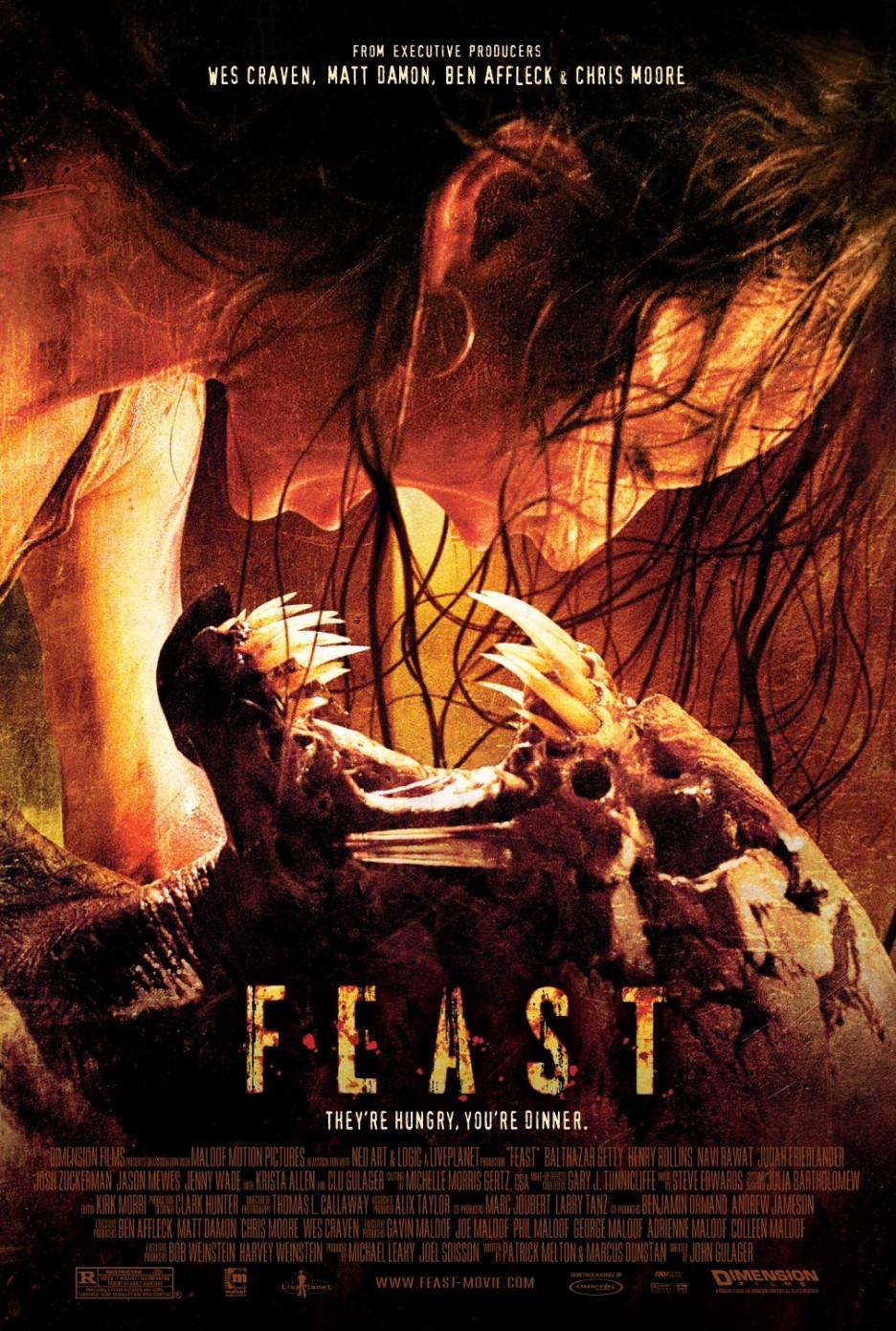 Feast (2005) พันธุ์ขย้ำเขี้ยวเขมือบโลก
