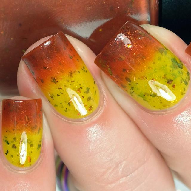 Fancy Gloss-Fallen Leaves