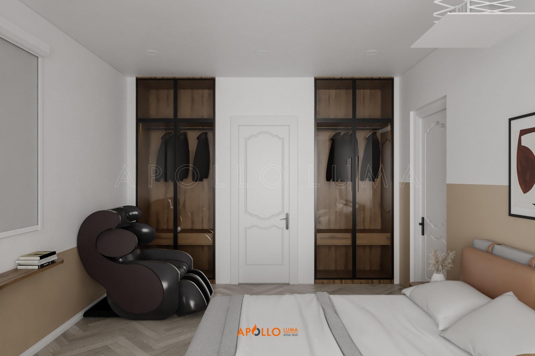 Thiết kế nội thất căn hộ 2PN Times City phong cách Scandinavian