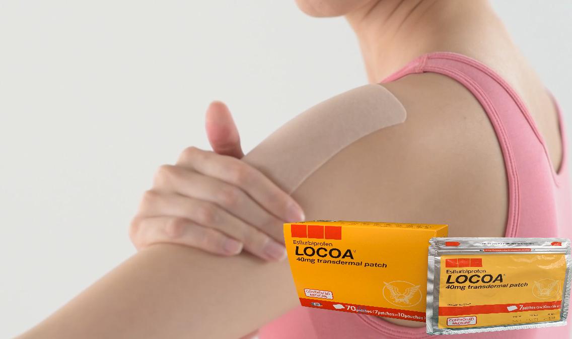 Locoa Transdermal patch, Taisho Pharmaceutical Introduce Locoa(Esflurbiprofen), locoa malaysia virtual launch, japan transdermal patch, osteorthritis,