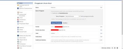 "Terakhir silakan kalian ganti username yang sekarang dengan username atau nama pengguna yang baru sampai ada tulisan ""Nama pengguna tersedia"" yang artinya nama pengguna itu dapat dipakai. Setelah dirasa nama pengguna sudah pas langsung saja klik Simpan Perubahan dan masukan password/sandi jika diperlukan"