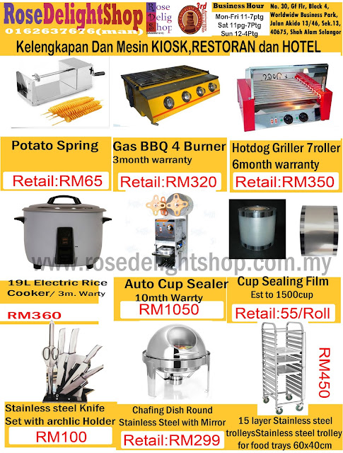 Kitchen pro malaysia for Kitchen set restoran