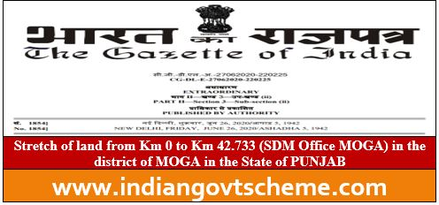 MOGA in the State of PUNJAB