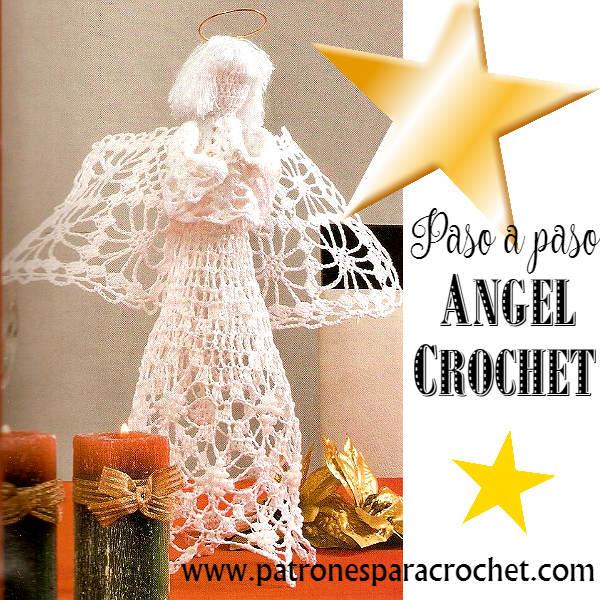 Angel para Tejer a Crochet / Paso a paso | Patrones para Crochet