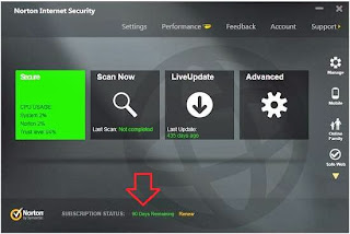 Norton Internet Security 2014 90 Days Product Key Free