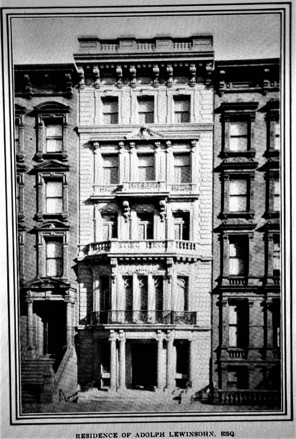 Daytonian in Manhattan: The Lost Adolph Lewisohn Mansion - 9