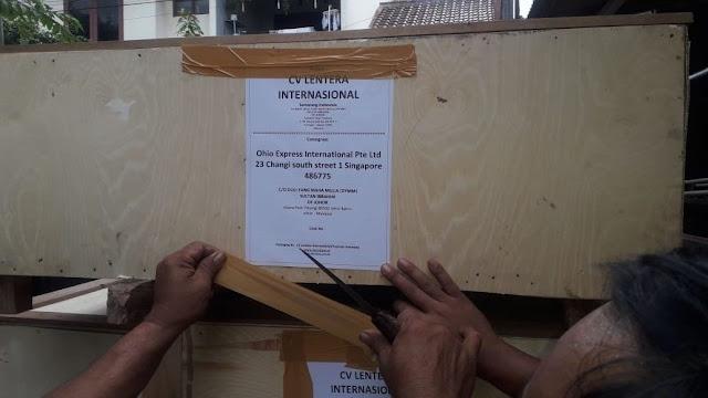 Jasa Undername Export Air Freight Door To Door Jakarta-Singapore Ke Istana Pasir Pelangi Malaysia