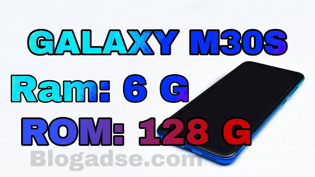 phone galaxy m30s 6 ram 128 rom