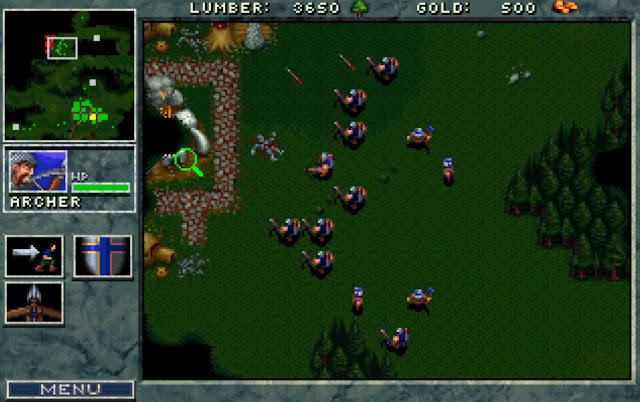 Warcraft 1 Advancing Screenshot