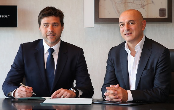 Mauricio Pochettino signs new deal at Spurs