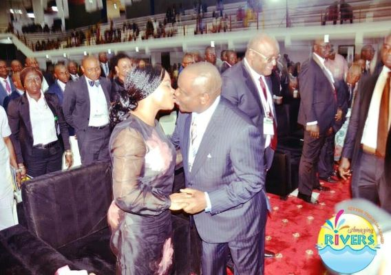 , See Who Governor Wike Kissed At The NBA Conference In Port Harcourt, Latest Nigeria News, Daily Devotionals & Celebrity Gossips - Chidispalace