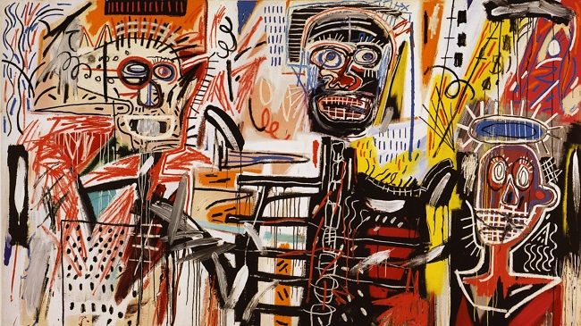 Obra de Jean-Michel Basquiat/Reprodução