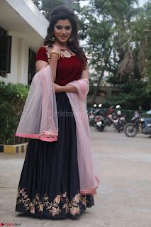 Actress Aathmika in lovely Maraoon Choli ¬  Exclusive Celebrities galleries 018.jpg