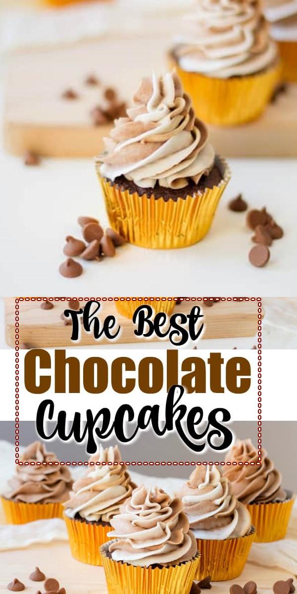 Best Chocolate Cupcake Recipe #cupcakerecipes