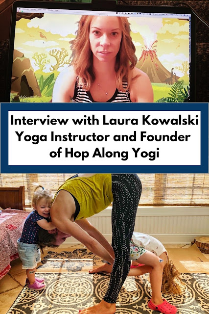 Interview with Laura Kowalski Yoga Instructor and Founder of Hop Along Yogi in Arlington Heights, IL