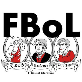 Logo that says: FBoL, and underneath it says F Bois of Literature
