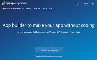 موقع appmakr