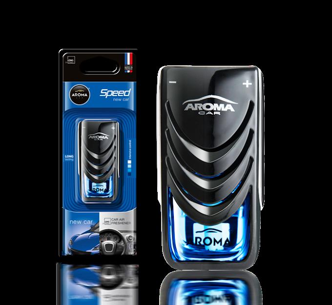 Nước hoa Kẹp cửa gió Aroma Car Speed 8ml - New Car