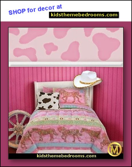 cowgirl bedroom decorating ideas - cowgirl decorations - horse theme room ideas