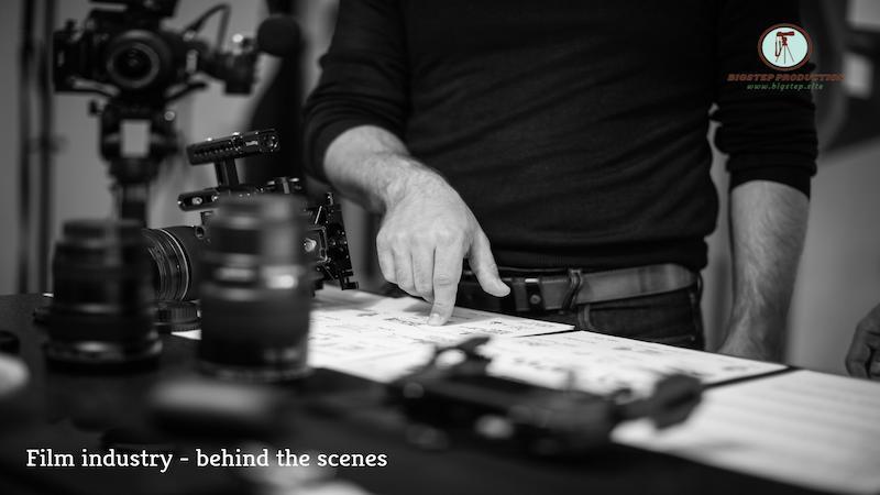 صناعة السينما - ما وراء الكواليس