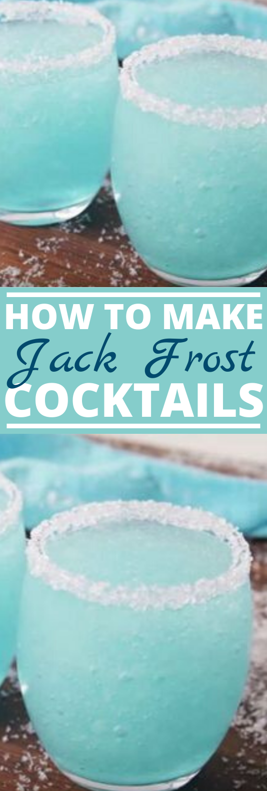 Jack Frosty Cocktails #drinks #cocktail #alcohol #slush #winter