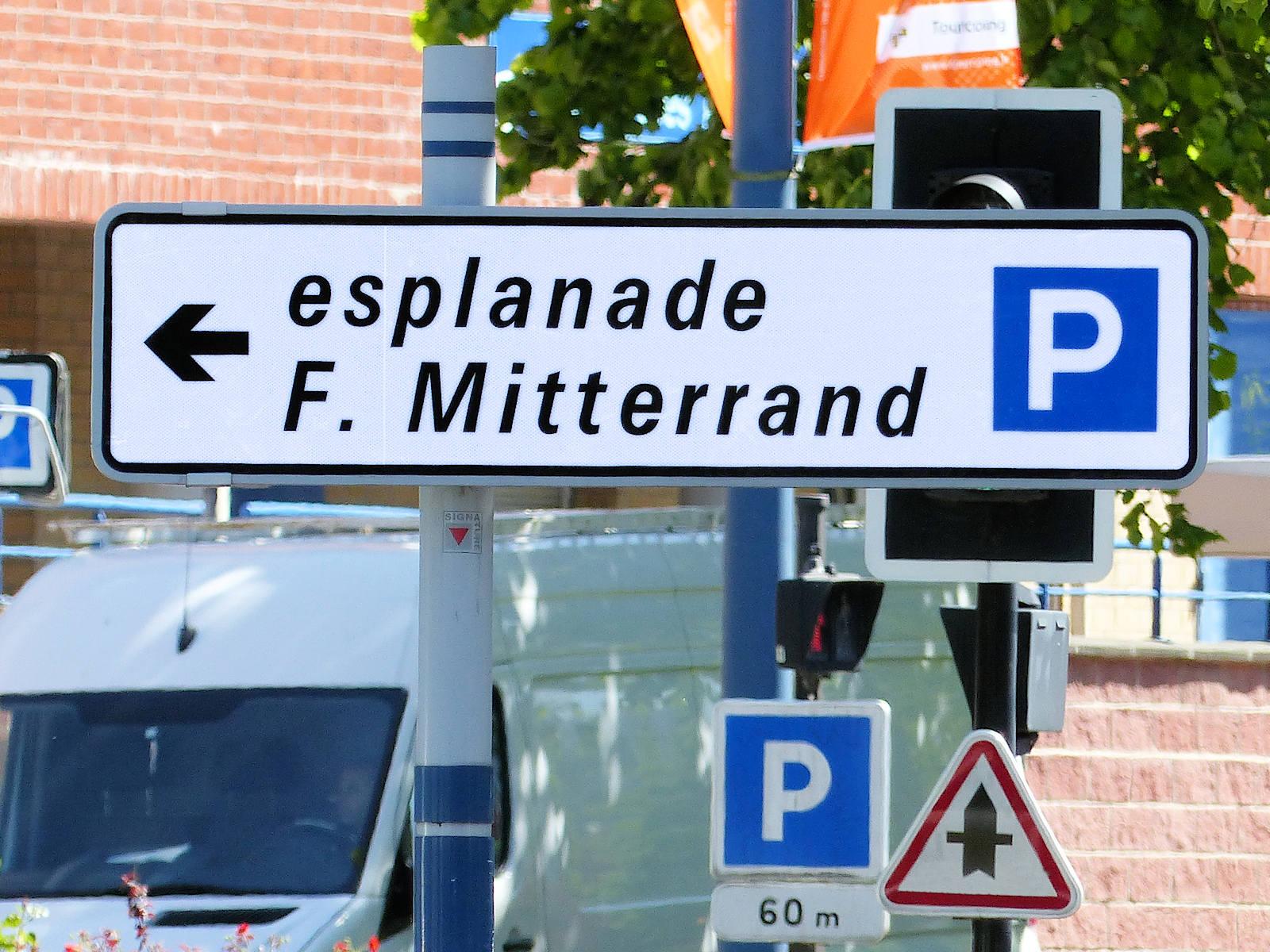 Parking Gratuit Esplanade Mitterrand, Tourcoing