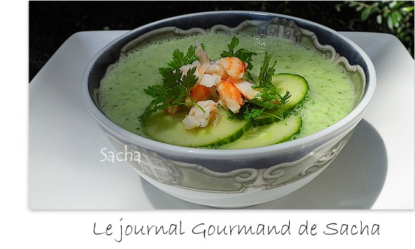 Le journal gourmand de Sacha