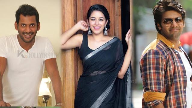 arya vishal Dubsmash Mrinalini Ravi sexy
