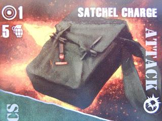 Fireteam Zero satchel charge card