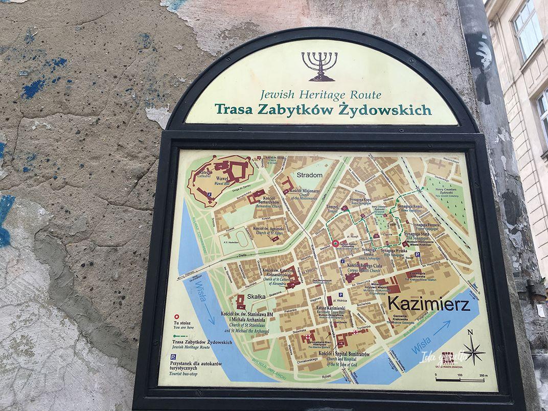 Kazimierz mapa