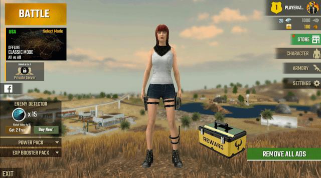 Swag Shooter - Game Offline Battle Royale yang mirip dengan Garena Free Fire